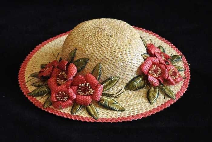 Соломенные шляпки Моя любимая