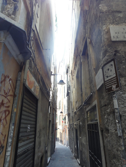 Генуя - мечта поэта: часть 4-Улочки 86421