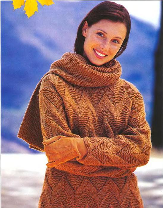 Золушка вяжет 90-2002-10 Спец выпуск Модели Франции_9 (549x700, 73Kb)