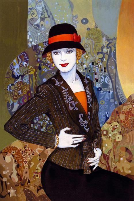 A Charming Lady (466x700, 434Kb)
