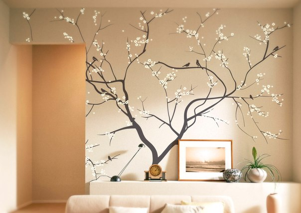 Дерево жизни на стене