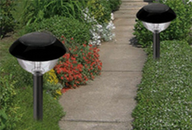 Светильники для сада и огорода своими руками