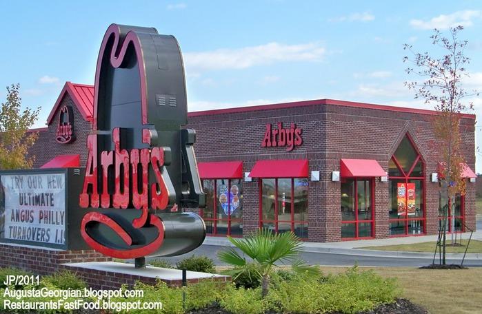 ARBY'S GROVETOWN AUGUSTA GEORGIA Columbia County, Arby's roast Beef Sandwich Fast Food Restaurant Augusta GA. Gateway Center (700x456, 116Kb)