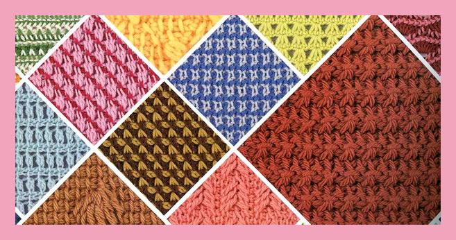 Тунисское вязание для начинающих (видео и фото МК)