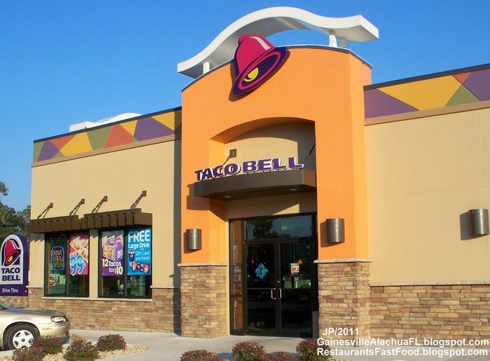 TACO BELL Alachua Florida, Taco Bell Mexican Fast Food Restaurant Alachua County FL. (700x515, 105Kb)