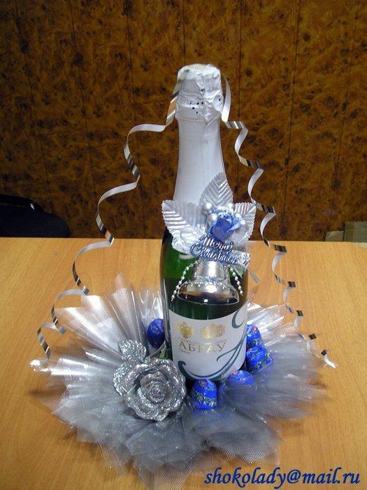 Поделки и украшения для бутылки 416
