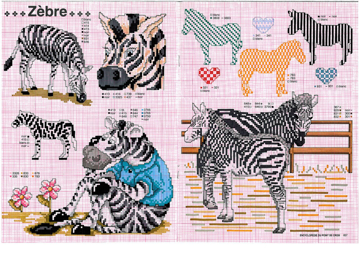 зебры (700x495, 590Kb)