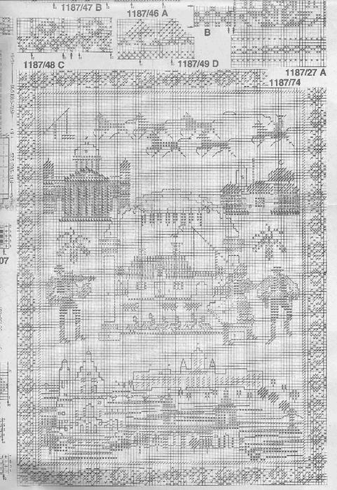 лошадки и домики (481x700, 282Kb)