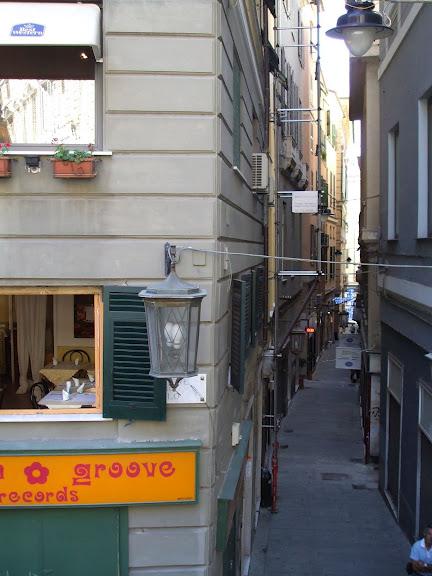 Генуя - мечта поэта: часть 4-Улочки 50391