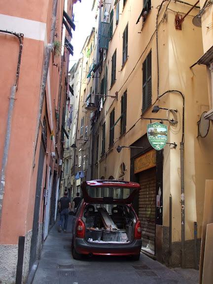 Генуя - мечта поэта: часть 4-Улочки 32849