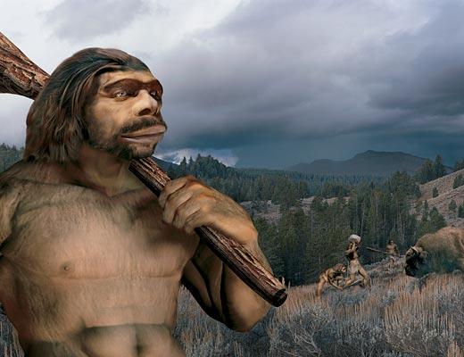 неандертальцы (520x400, 35Kb)