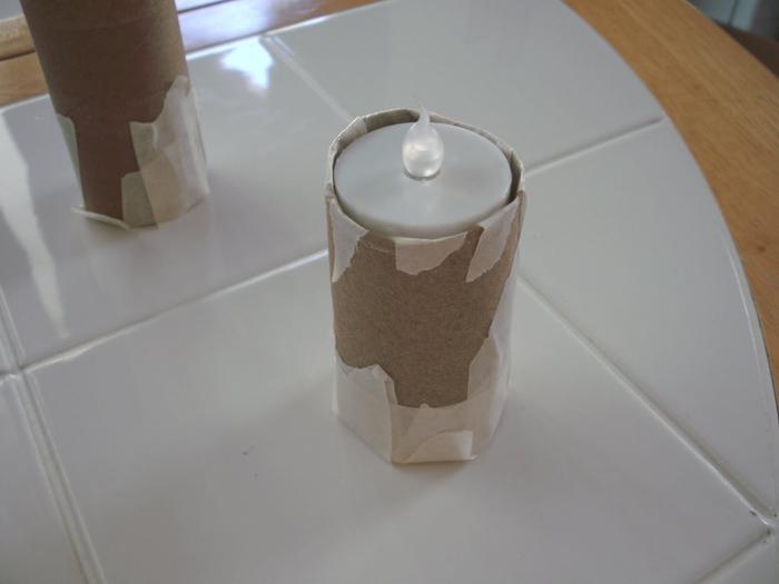 Как сделать винтажные французские свечи. МК.