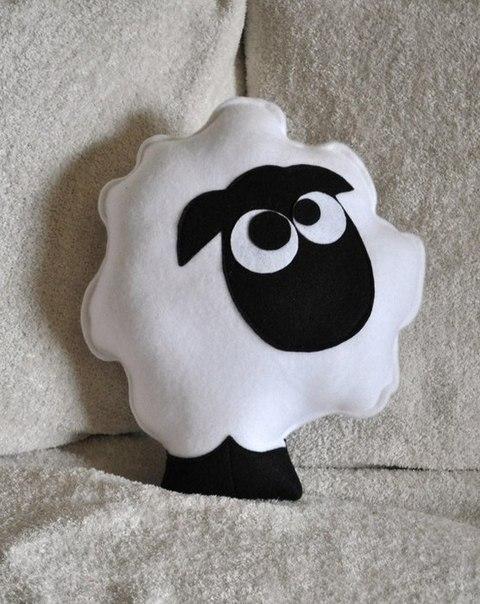 Декоративная подушка своими руками животные