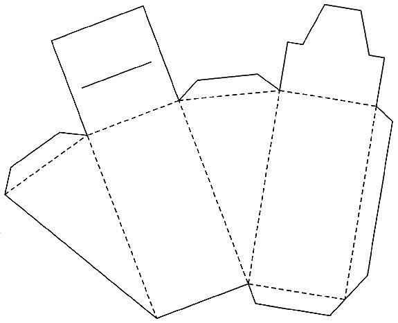 Шаблоны для коробочки для подарка своими руками