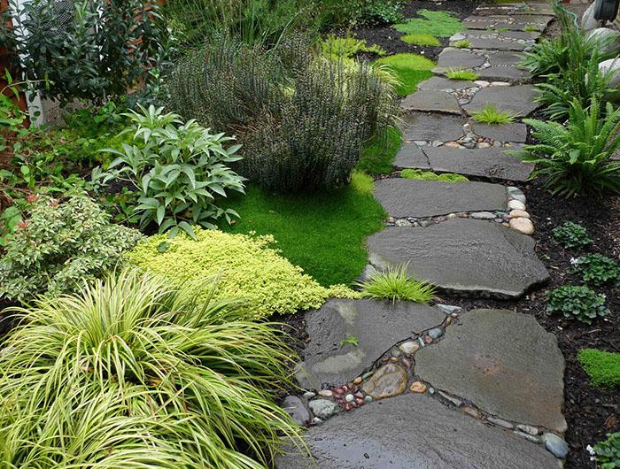 Дорожки в саду ландшафтный дизайн