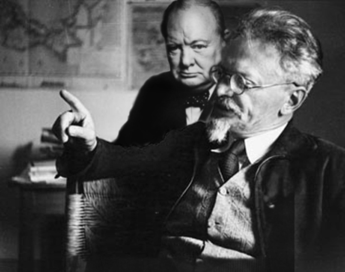 Черчилль и Троцкий (700x551, 91Kb)