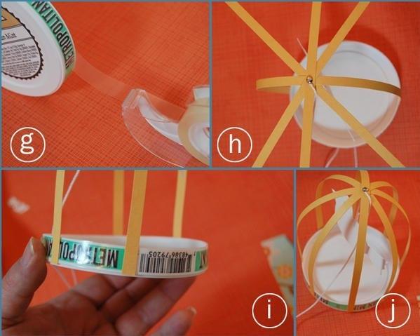Новогодние фонарики из бумаги Вариант Самый простой вариант изготовления новогоднего бумажного фонарика следующий