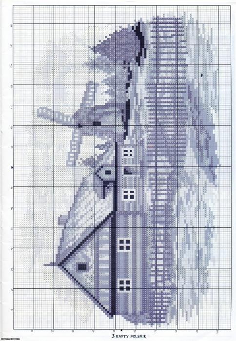 дом и мел (484x700, 306Kb)
