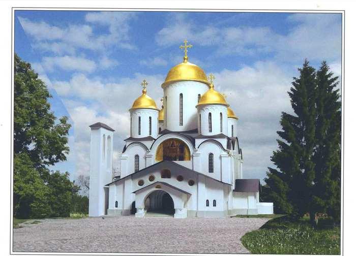 Проект строящегося храма (700x504, 40Kb)