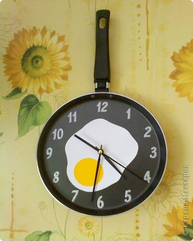 Своими руками часы для кухни