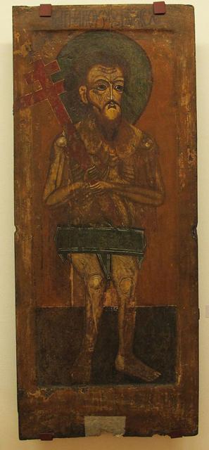 Благоразумный разбойник Рах. Русский север, XVII век (297x640, 186Kb)