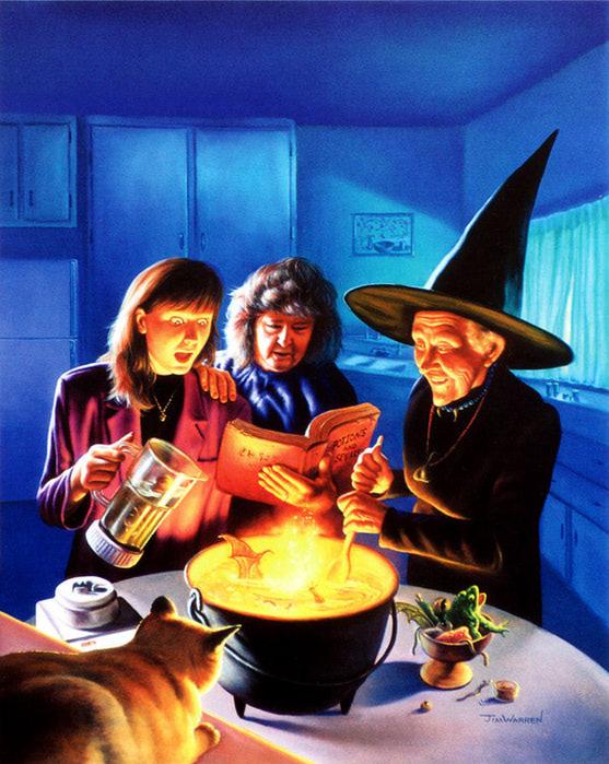 магия есть: