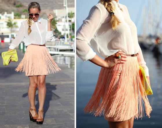 Красивые юбки 2012