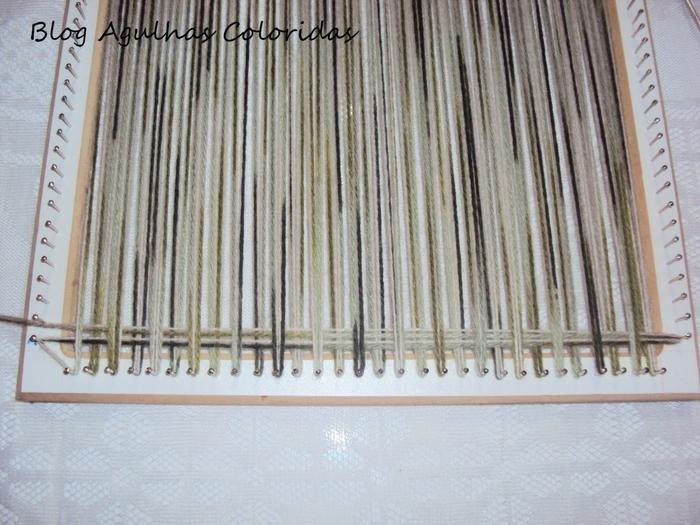 как сделать ткацкий станок
