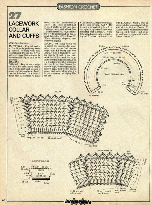 Вязание крючком схемы школьная форма 57
