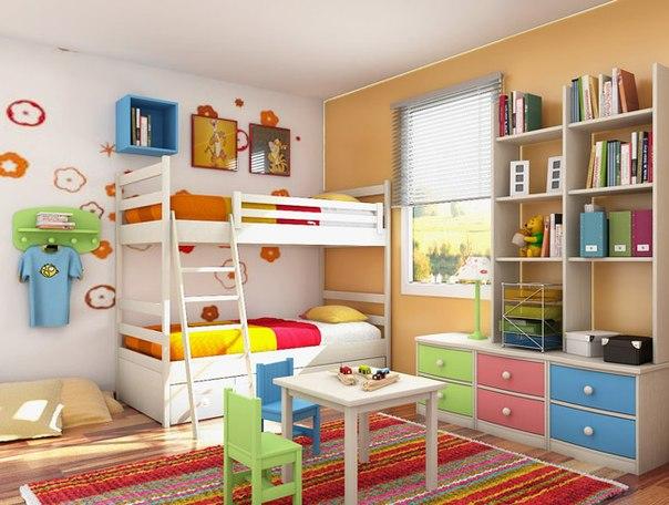 Детская-комната-для-двоих-детей-16 (604x456, 67Kb)