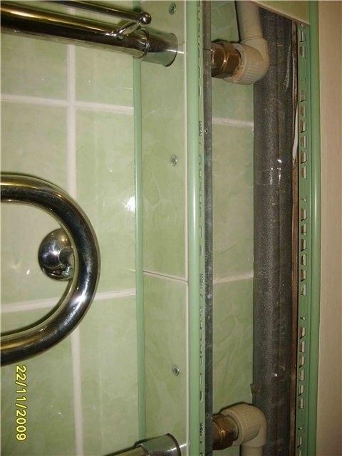 Как сделать трубу для ванной 945