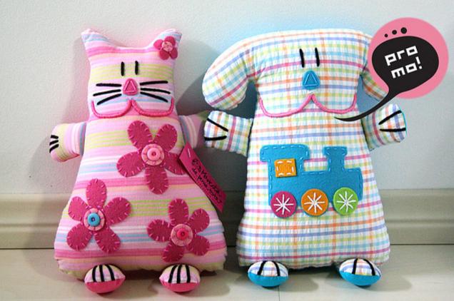 Игрушки из ткани с картинками