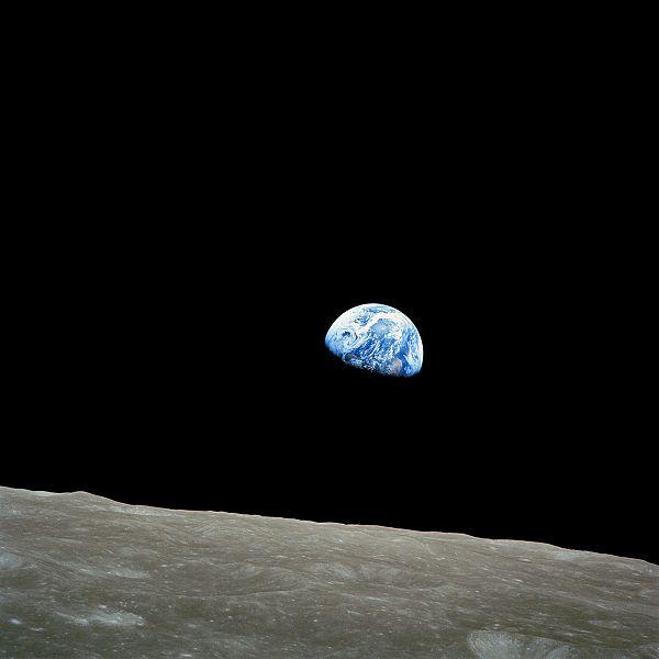 Восход Земли (600x600, 21Kb)