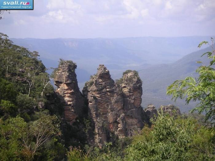 Лучшие достопримечательности Австралии - Национальный парк Голубые горы 1 (700x525, 105Kb)