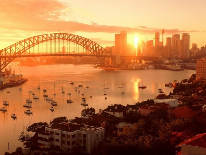 Лучшие достопримечательности Австралии - Сиднейская Гавань 1 (700x525, 85Kb)