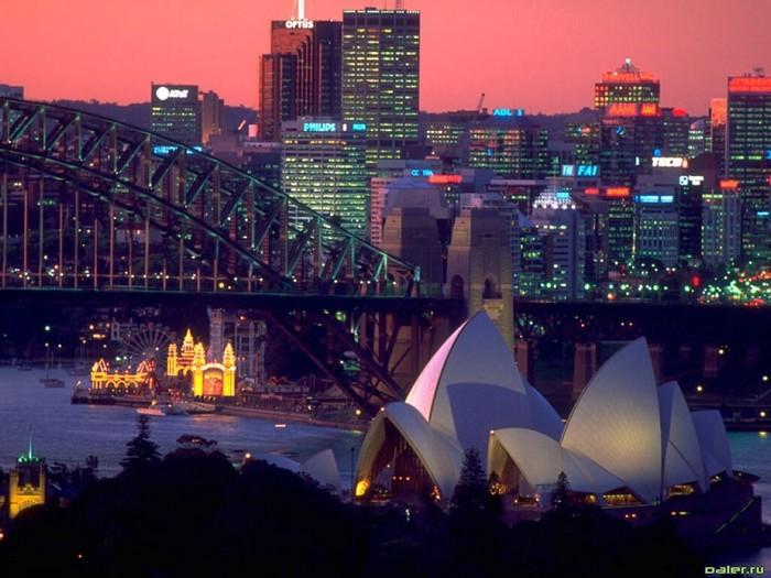 Лучшие достопримечательности Австралии - Сиднейская Гавань 3 (700x525, 97Kb)