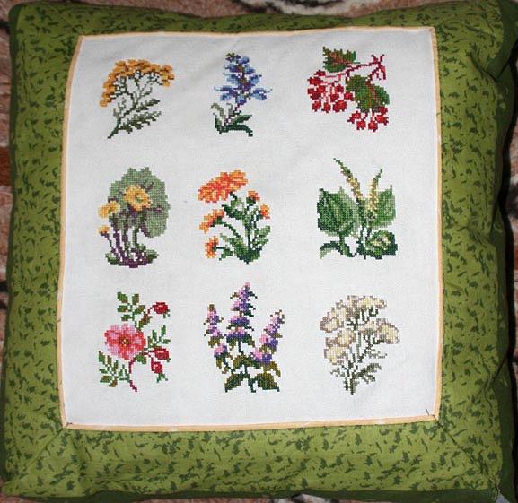 Лекарственные травы схемы вышивки