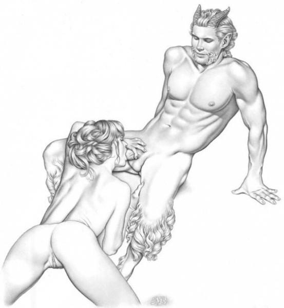 секс женщины рисунки