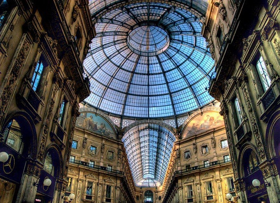 пассаж в Милане (570x413, 266Kb)