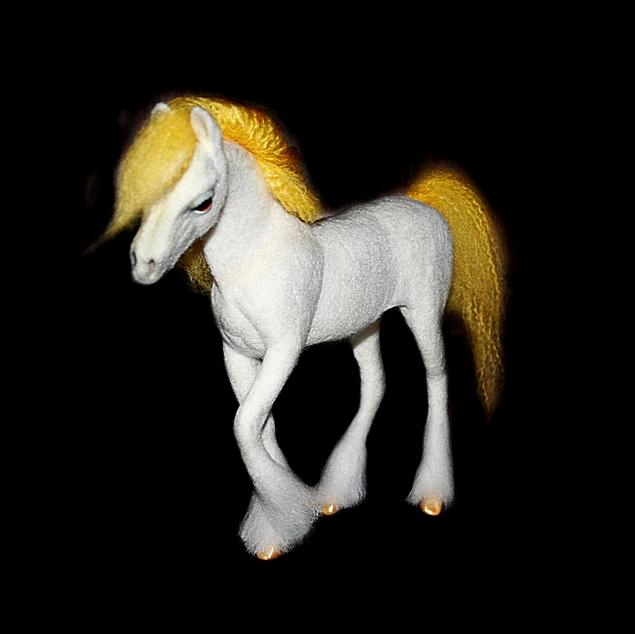 Общая высота лошади Златы 23
