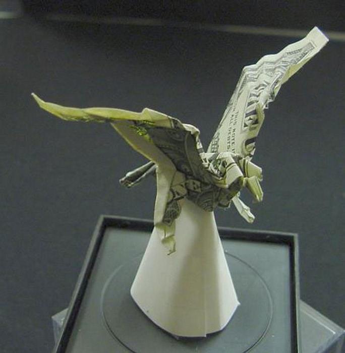 Креативные оригами из денег 4 (684x700, 73Kb)