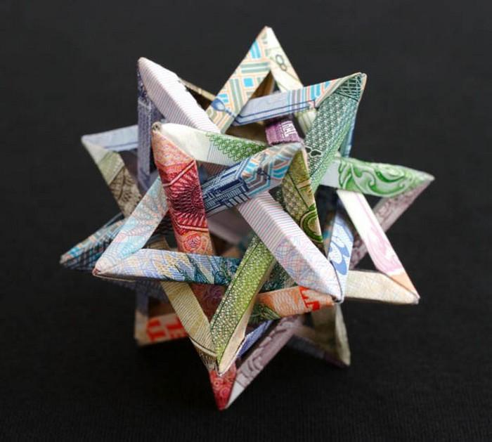 Креативные оригами из денег 5 (700x629, 93Kb)