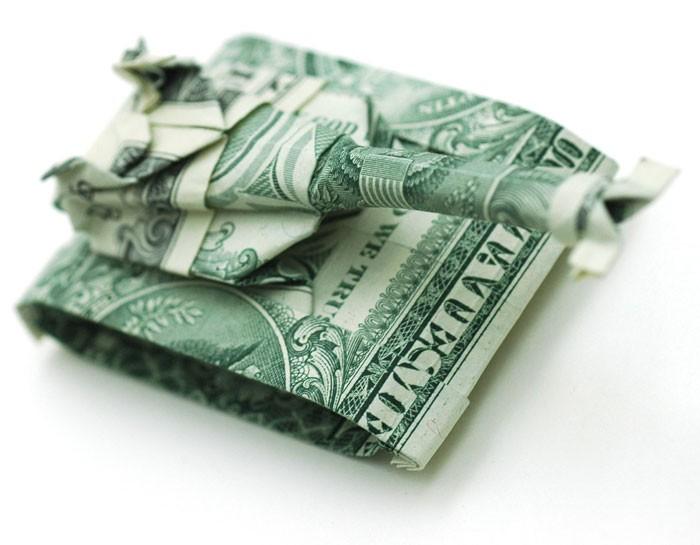 Креативные оригами из денег 7 (700x545, 60Kb)