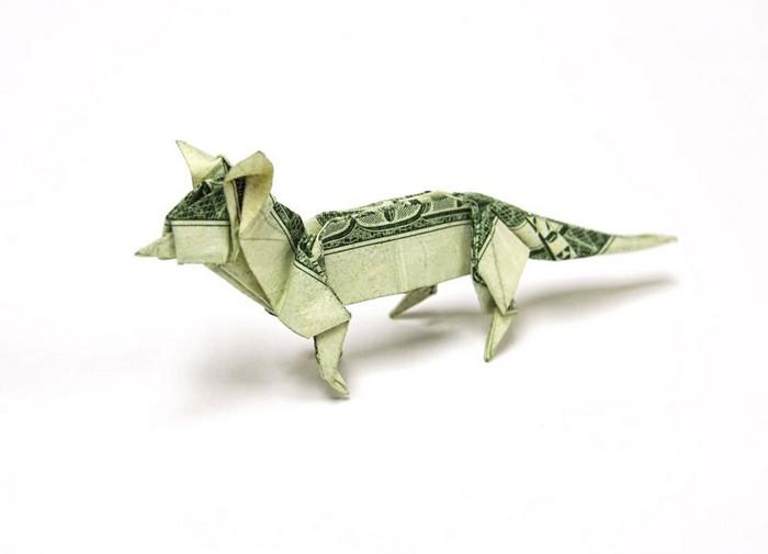 Креативные оригами из денег 12 (700x505, 27Kb)
