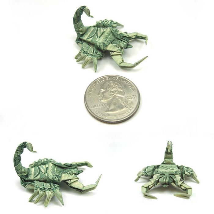 Креативные оригами из денег 21 (700x700, 55Kb)