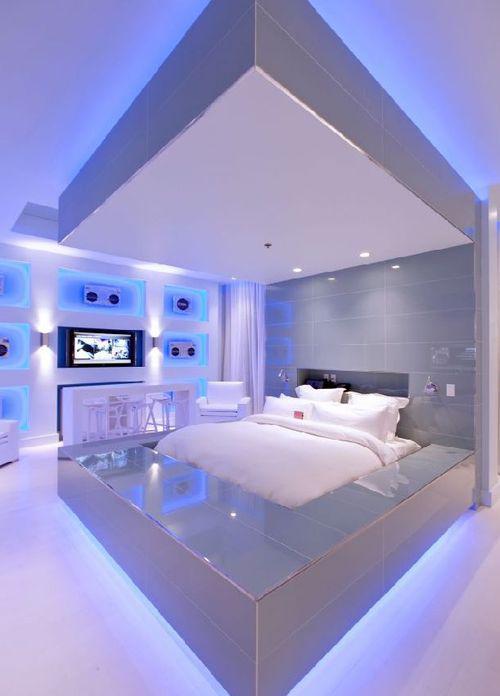 Световой дизайн для комнаты