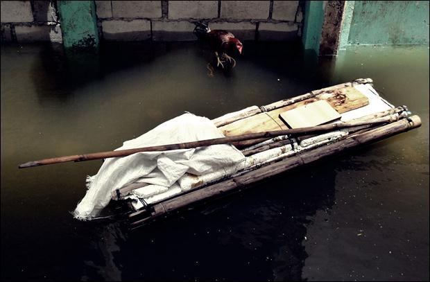 Наводнение на Филиппинах. Фотографии затопленной столицы Манилы 05 (620x407, 36Kb)