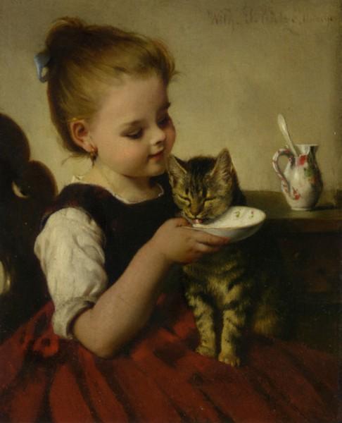 Best Friends, by Wilhelm Schtze (486x600, 53Kb)
