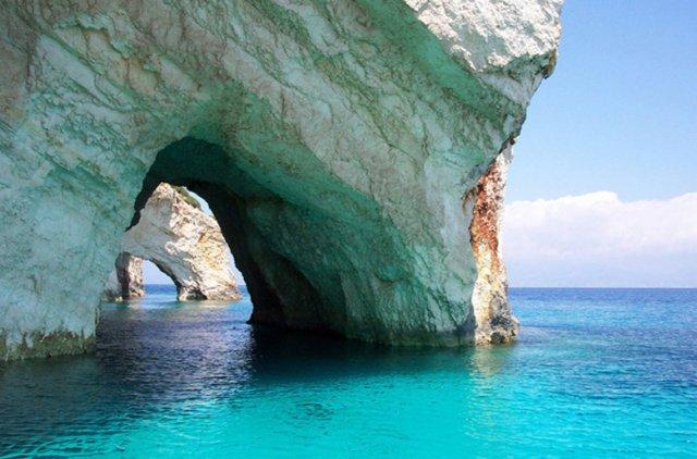 Голубые пещеры закинф греция 4914749