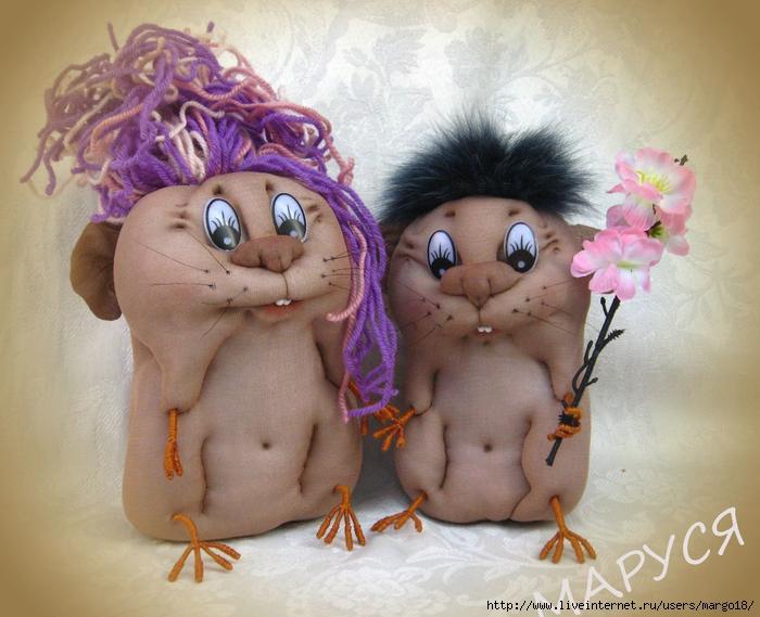 Интерьерные куклы из колготок своими руками